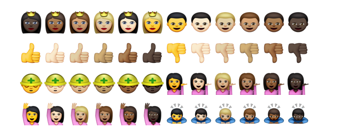 Finally, Justice For All: New Brown People Emojis